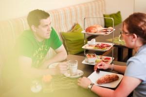 Frühstücken im Allgäu