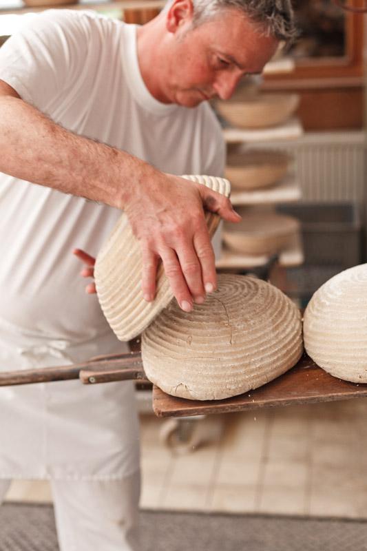 Brotteig darf in den Ofen